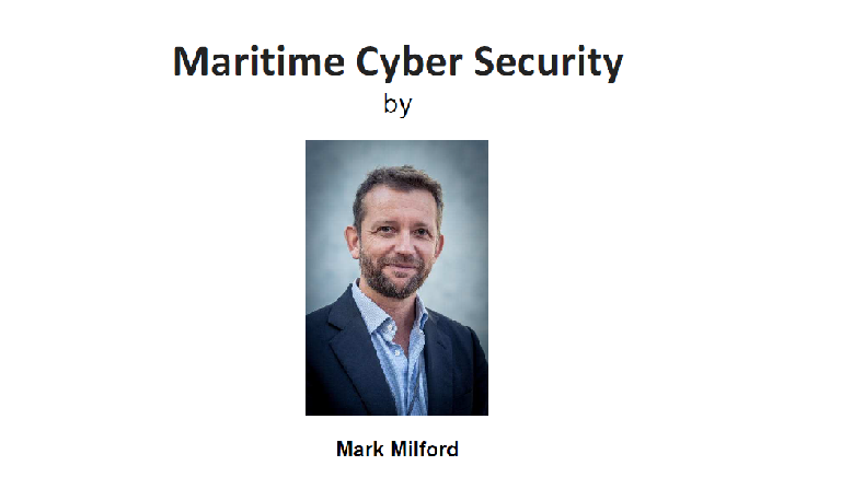 Technical Talk on 15 Feb 2019 – Maritime Cyber Security