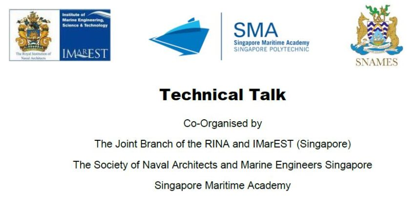 Technical Talk on 22 August 2019 – Waste Heat Recovery Technologies for Marine Applications