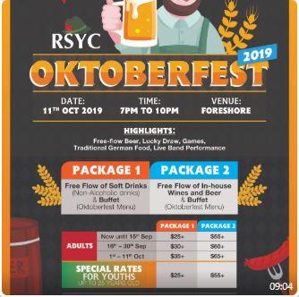 RSYC OKTOBERFEST 2019