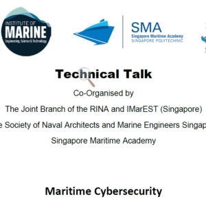 Maritime Security – 20-Feb-2020 ( Thu, 1830 Hours ) at Singapore Polytechnic