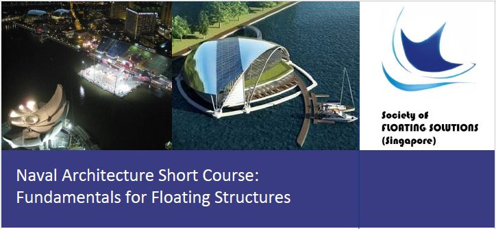 SFSS Naval Architecture Short Courses on 25-26 Feb 2020 at NewRIIS