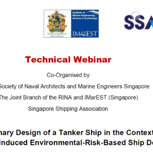 Preliminary Design of a Tanker Ship in the Context of Collision-Induced Environmental-Risk-Based Ship Design