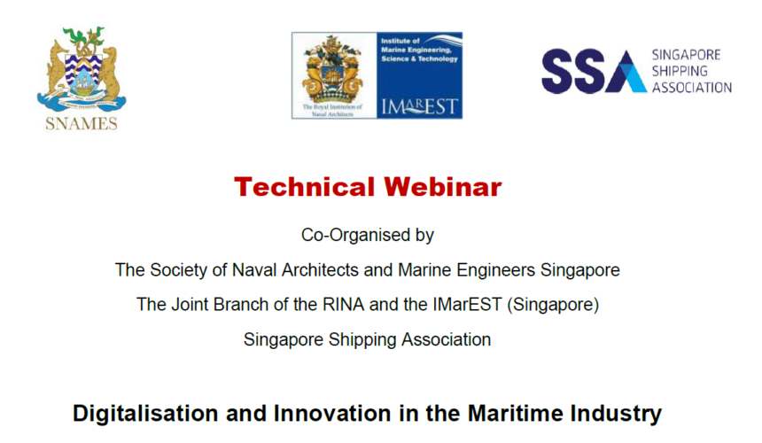 Digitalisation and Innovation in the Maritime Industry