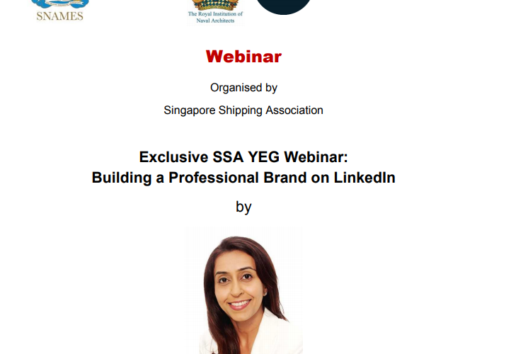 SSA Exclusive Webinar – Building a Professional Brand on LinkedIn