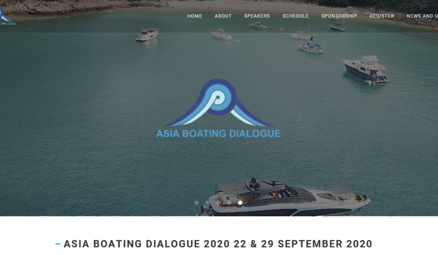 Asia Boating Dialogue Livestreams in 2020 – 2 Days