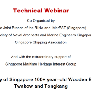 The Story of Singapore 100+ year-old Wooden Boats Twakow and Tongkang