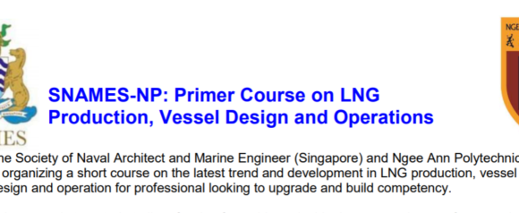 SNAMES-NP: Primer Course on LNG – 2 Days