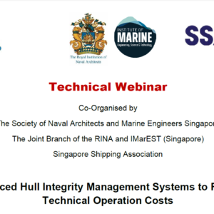 Webinar on Advanced Hull Integrity Management Systems to Reduce Technical Operation Costs
