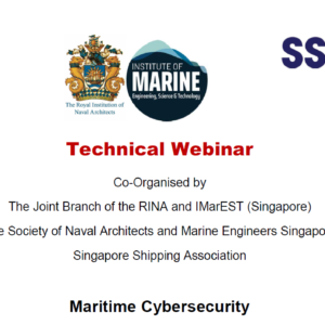 Webinar on Maritime Cybersecurity