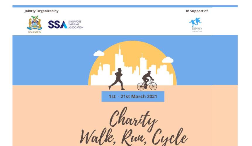 SSAYEG-SNAMES Charity Walk/Run/Cycle | 1st ~ 21st March 2021