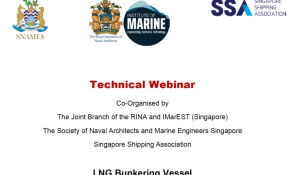 Webinar on LNG Bunkering Vessel