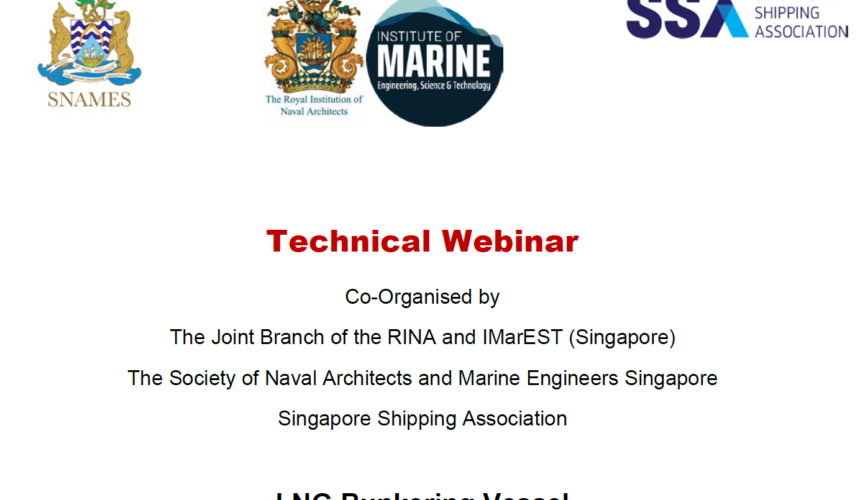 Webinar on LNG Bunkering Vessel