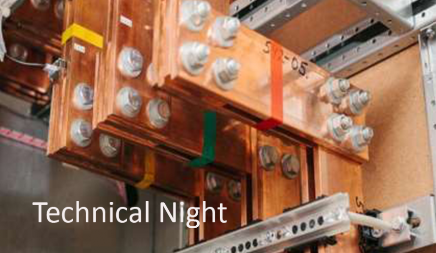Technical Night on 21 May 2019