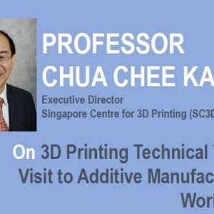 3D PRINTING and hosting us on a Visit to Additive Manufacturing Workshop (13 Sep 2018)
