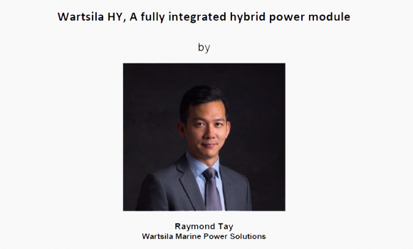 Technical Talk Wartsila HY, A fully Integrated hybrid Power (16 Aug 2018)