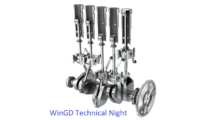 Technical Night on 04 Oct 2018 – WinGD Power Solutions – Simply a Better Different